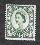 Stamps : Europe : United_Kingdom :  4 - Reina Isabel II de Reino Unido (ESCOCIA)