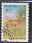 Stamps : Africa : Tanzania :  antilope