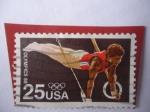 Stamps United States -  Anillos de Gimnasia - Olimpic Seoul 1988