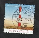 Sellos del Mundo : Europa : Alemania : 3173 - Faro de Wangerooge