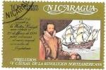 Stamps : America : Nicaragua :  personaje