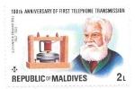 Stamps Maldives -  personaje