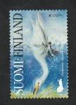 Sellos del Mundo : Europa : Finlandia : Cisne cantor, cygnus cygnus