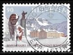 Stamps : Europe : Switzerland :  Suiza-cambio