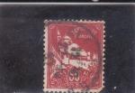 Stamps : Africa : Algeria :  mezquita