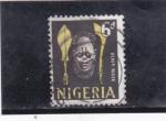 Stamps : Africa : Nigeria :  máscara