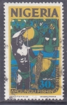 Stamps : Africa : Nigeria :   Festival de Pesca de Argungu