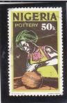 Stamps : Africa : Nigeria :  alfarero