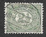 Stamps Netherlands -  60 - Número