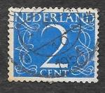 Sellos de Europa - Holanda -  283 - Número