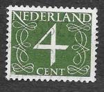Stamps Netherlands -  285 - Número