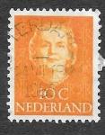 Stamps : Europe : Netherlands :  308 - Reina Juliana de los Países Bajos