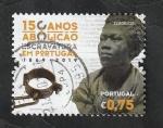 Stamps : Europe : Portugal :  150 Años de la abolición de la esclavitud