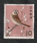 Sellos del Mundo : Asia : Japón : 745 B - Ave protegida, gorrión