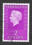Stamps Netherlands -  471A - Reina Juliana de los Países Bajos