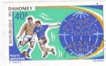 Stamps : Asia : Benin :  MUNDIAL DE FUTBOL MEXICO´70