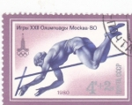 Stamps Russia -  OLIMPIADA MOSCU'80