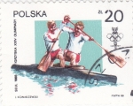 Sellos de Europa - Polonia -  OLIMPIADA SEUL'88