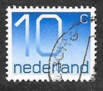 Stamps of the world : Netherlands :  537 - Número