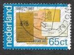 Stamps of the world : Netherlands :  611 - Centenario del Banco de Ahorro Nacional
