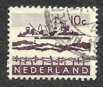 Stamps of the world : Netherlands :  403 - Dragando el Delta