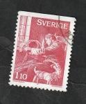 Stamps : Europe : Sweden :  988 - Preparativos para Navidad