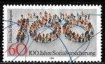 Stamps of the world : Germany :  Alemania-cambio