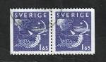 Stamps : Europe : Sweden :  1142 - Noche y Día