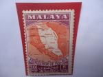 Sellos del Mundo : Asia : Malasia : Federation of Malaya - Federación de Malasia, 1963.