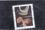 Sellos del Mundo : America : Canadá : ARTESANIA