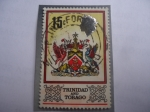 Stamps of the world : Trinidad y Tobago :  Escudo de Armas.