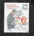Sellos del Mundo : Europa : Lituania :  1024 - Operación de corazón abierto