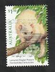Stamps Oceania - Australia -  Hemibelideus lemuroides