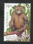 Stamps Oceania - Australia -  Dendrolagus bennettianus