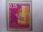 Sellos de America - Venezuela -  Censo Nacional 1960