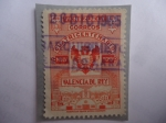 Sellos del Mundo : America : Venezuela : Valencia del Rey - Cuatricentenario, 1555-1955
