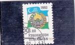 Stamps Uzbekistan -  ESCUDO