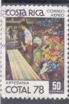 Sellos del Mundo : America : Costa_Rica :  ARTESANIA COTAL 78