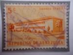 Sellos del Mundo : America : Venezuela : Liceo O'Leary de Barinas - serie_ Construyó Obras Públicas.