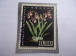 Sellos del Mundo : America : Venezuela : Epidendrum atropurpureum Willd.