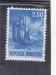 de Asia - Indonesia -  BARCO TIPICO