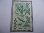 de Africa - Togo -  Nativos- extracción del Aceite de Palma