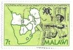 sello : Africa : Malawi : eventos
