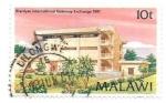 sello : Africa : Malawi : arquitectura
