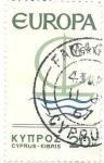 sello : Asia : Chipre : europa