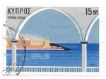 sello : Asia : Chipre : arquitectura