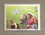 Stamps China -  Niños se dirigen a la escuela