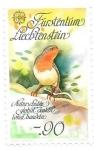 Stamps : Europe : Liechtenstein :  aves