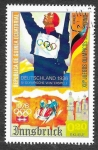 Stamps Equatorial Guinea -  Yt58D - XII JJOO de Invierno Innsbruck