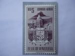 Sellos del Mundo : America : Venezuela : E.E.U.U. de Venezuela - Estado Merida - Escudo de Armas-Catedral-Agricultura